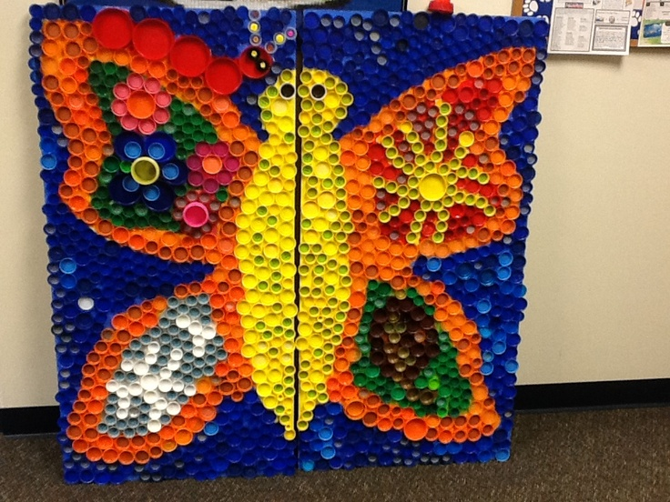 37 best images about bottle cap murals on pinterest for Bottle cap mural