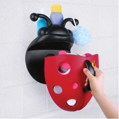 #Bañarse nunca había sido tan #divertido! Esta mariquita sirve para recoger, secar y almacenar los utensilios y juguetes de baño de tu bebé El Bug Pod ayuda a la limpieza del baño, al proporcionar una pala con drenaje para recoger y secar los juguetes y una base montada en la pared para almacenar los productos de baño. En www.wombox.co Juguetes: Bug Pod #bebe #mama #embarazo #maternidad #juguete #baño Encuéntralas en WOM   www.wombox.co