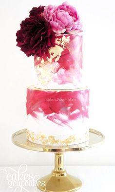 Wedding cake idea; Wedding cake idea; Featured Cake: Cakes 2 Cupcakes
