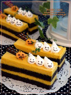 「【ハロウィン】かぼちゃムースのケーキ」はつみ   お菓子・パンのレシピや作り方【corecle*コレクル】