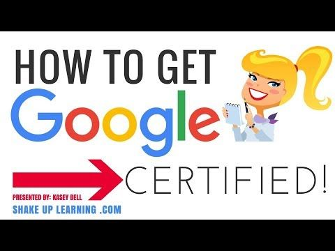 How to Get Google Certified! - YouTube