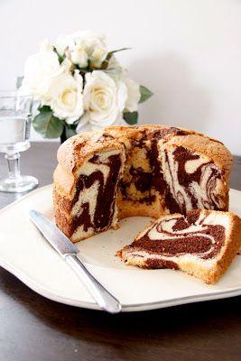 bake-a-boo: Hello Marble Chiffon Cake