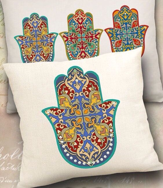 Hamsa chamsa pillows