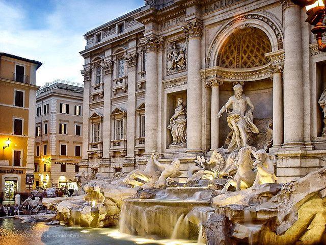 Maybe someday...!   Trevi Fountain, Rome Italy