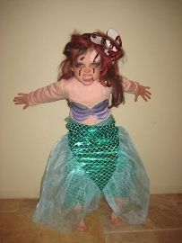 Zombie Little Mermaid Costume 17 Best images about S...