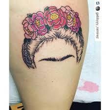Resultado de imagem para frida kahlo tattoo skull