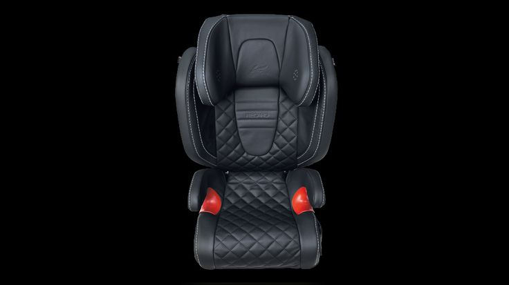Kahns Evoque Baby Seat - Black Starting at: $1,539.00 Kahn Design Recaro Young Sport child seat in quilted Nappa leather.