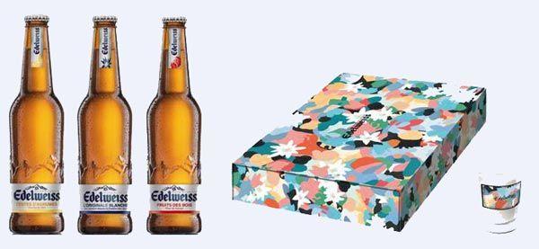 Nouvelle gamme et box Edelweiss par Inès Longevial #biere #beer