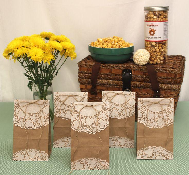 brown paper gift bags