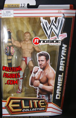 RINGSIDE COLLECTIBLES WWE Toys, Wrestling Action Figures, Jakks Pacific, Classic Superstars Action F: DANIEL BRYANELITE 12Mattel WWE Toy Wrestling Action Figure