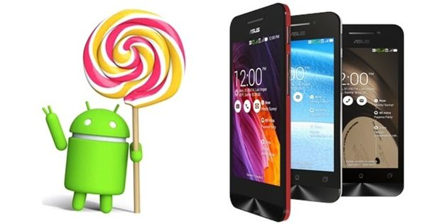 Asus ZenFone 4, ZenFone 5 și ZenFone 6 vor primi update la Android 5.0 Lollipop în luna Mai