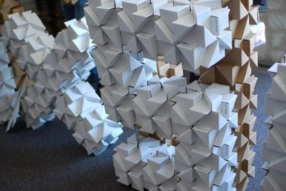 Bloxes  Modular Cardboard Building System