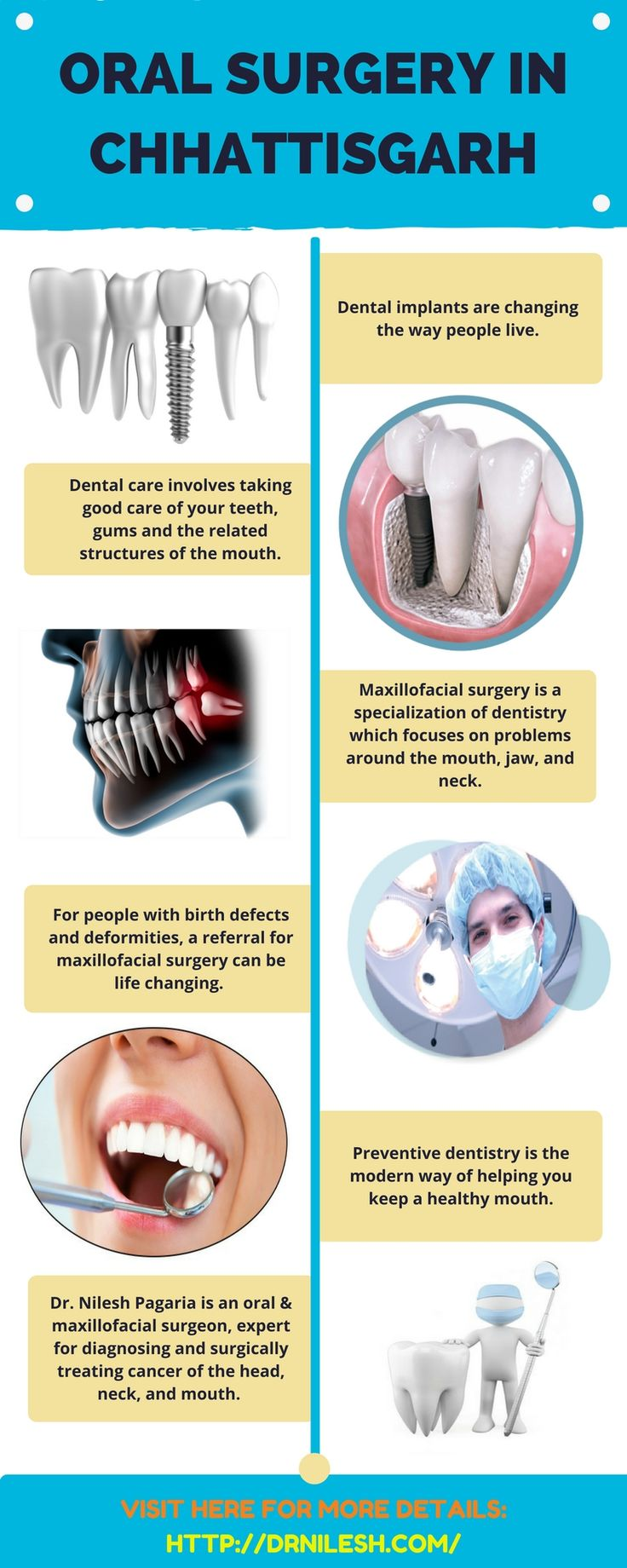 Have a jaw, oral, or facial cyst or tumor diagnosed, removed and reconstructed here at Dr. Nilesh Pagaria's clinic (Oral & Maxillofacial Surgeon) to get the best treatment and care.