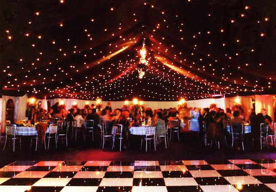String Lights For Marquee : 17 Best images about Ceiling Decor on Pinterest Dance floors, Receptions and Wooden flooring