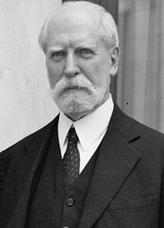 Charles Evans Hughes, narrowly lost the 1916 Presidential race to Woodrow Wilson, 11th Chief Justice of the United States (1930-1941).