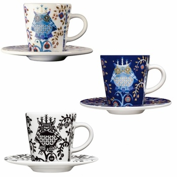 #pintofinn iittala Taika Espresso Cup and Saucer Set of 6 - Click to enlarge
