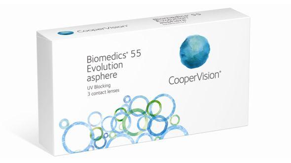 BIOMEDICS BIOMEDICS 55 UV EVOLUTION (3 LENTILLAS)