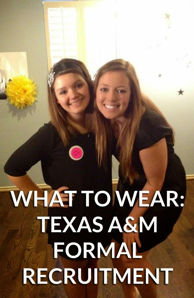 What To Wear: Skit Night + Preference Night // Texas A&M Sorority Recruitment