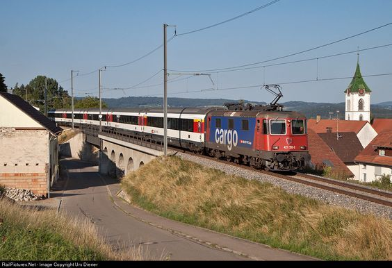 RailPictures.Net Photo: 421 392 SBB Re 421 at Lottstetten, Germany by Urs…