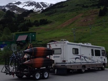 Anchorage has some unique RV parks and many people prefer to avoid them all together. Learn a few alternatives to camping in an Anchorage RV park.