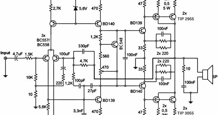 200w subwoofer amplifier circuit diagram, subwoofer
