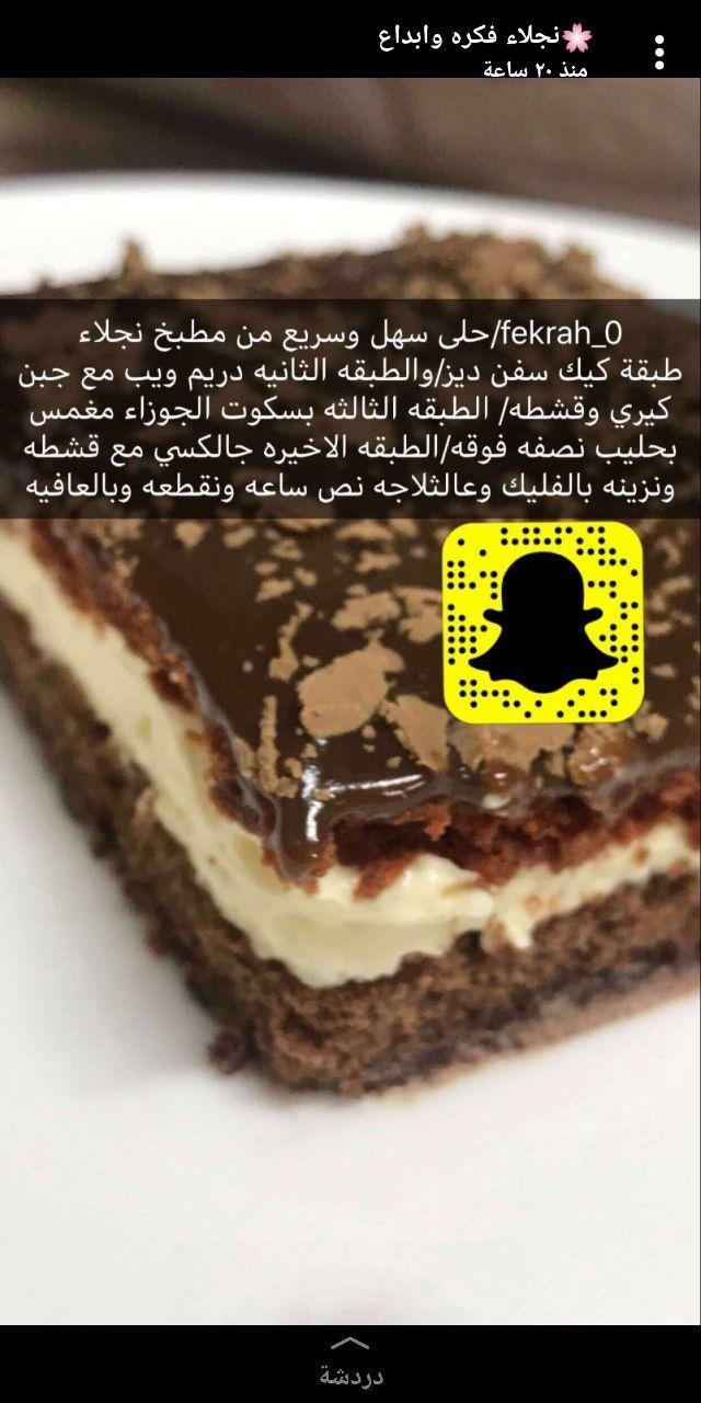 Pin By Bloggerista89 On وصفات بالعربي Arabian Food Cookout Food Desserts