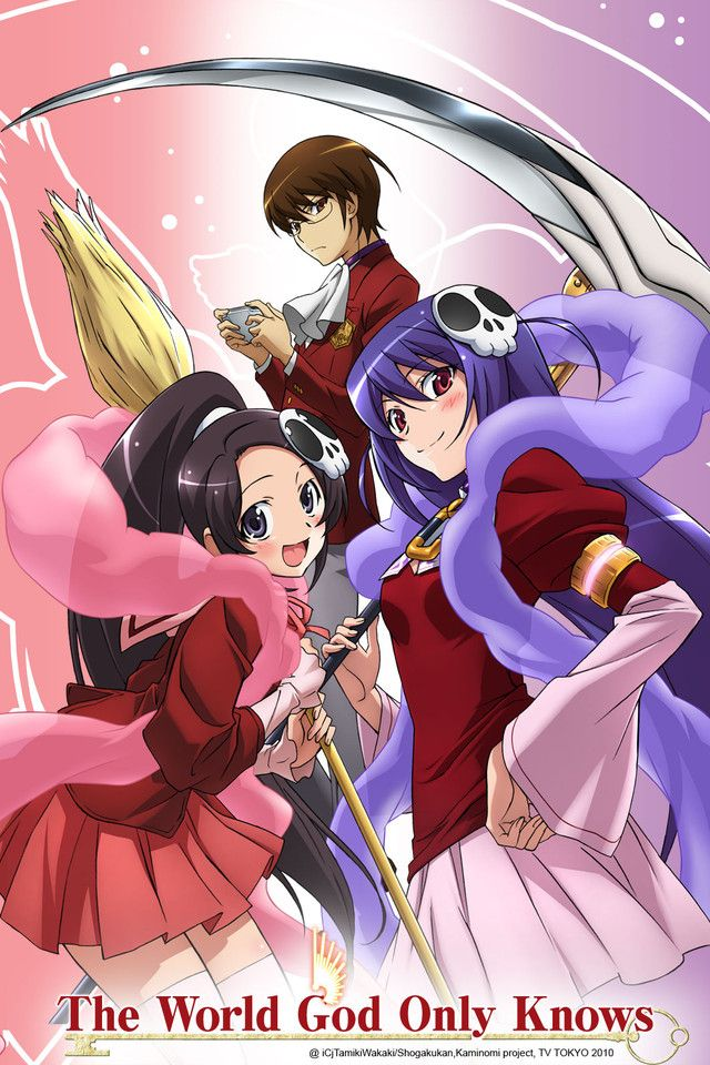 Crunchyroll - The World God Only Knows Full episodes streaming online for free