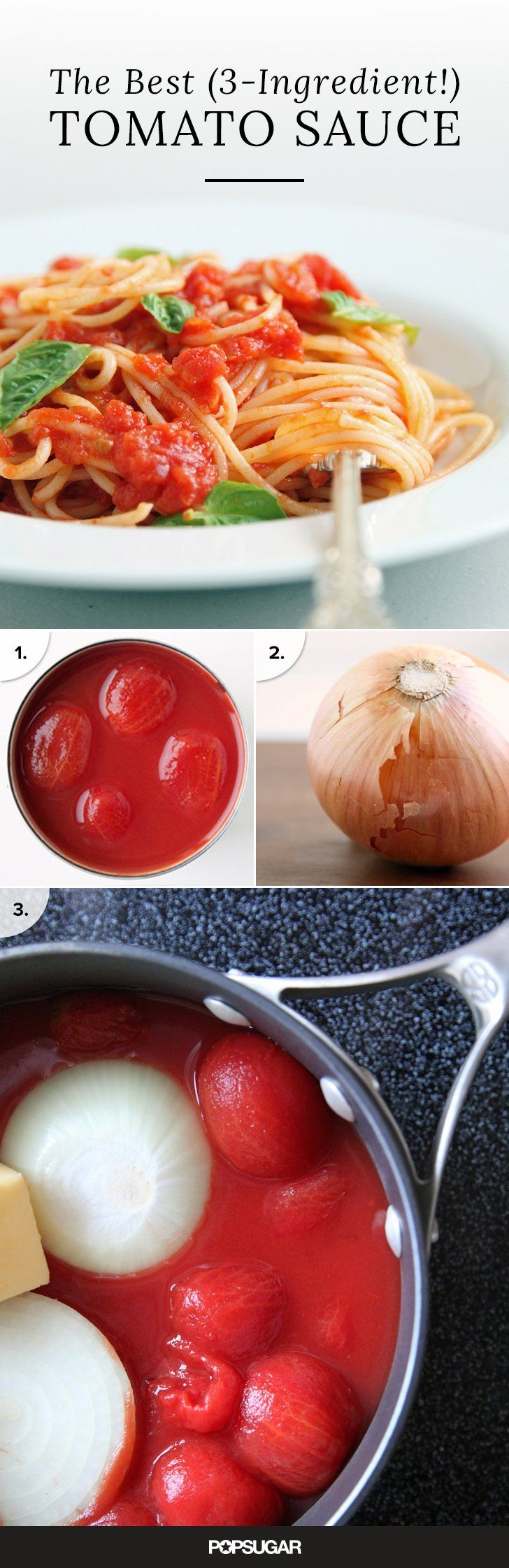 You Won't Believe How Good This 3-Ingredient Tomato Sauce Is