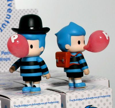 Playlounge - Products - Vinyl Toys - Periwinkle