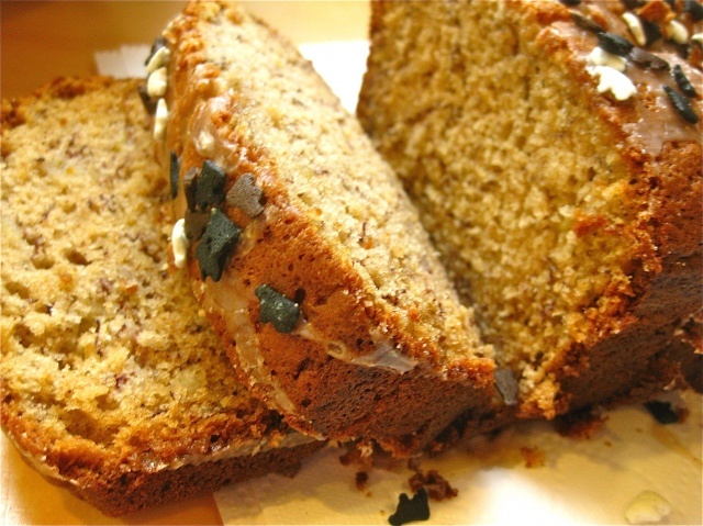 "BANANA BREAD  -  by: Joanne Chang, owner of Flour Bakery, from her cookbook:  ""Flour: Spectacular Recipes from Boston's Flour Bakery + Cafe"""