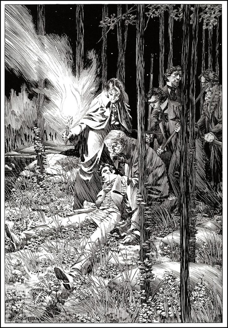 Berni Wrightson illustrating Frankenstein by Mary Wollstonecraft Shelley Saved from thegoldenagesite.blogspot.it