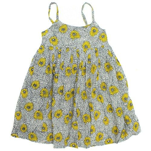 Belle Yellow Floral Dress