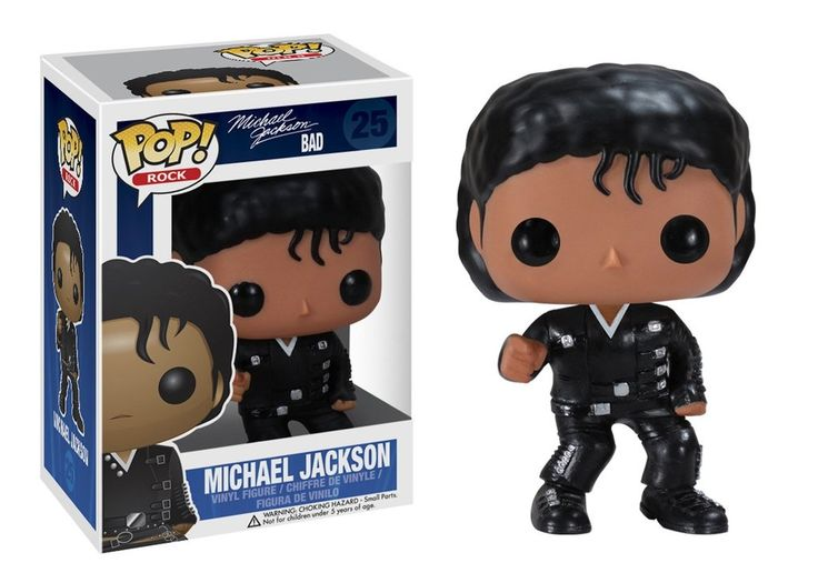 MJ Bad - Pop! Rocks action figure