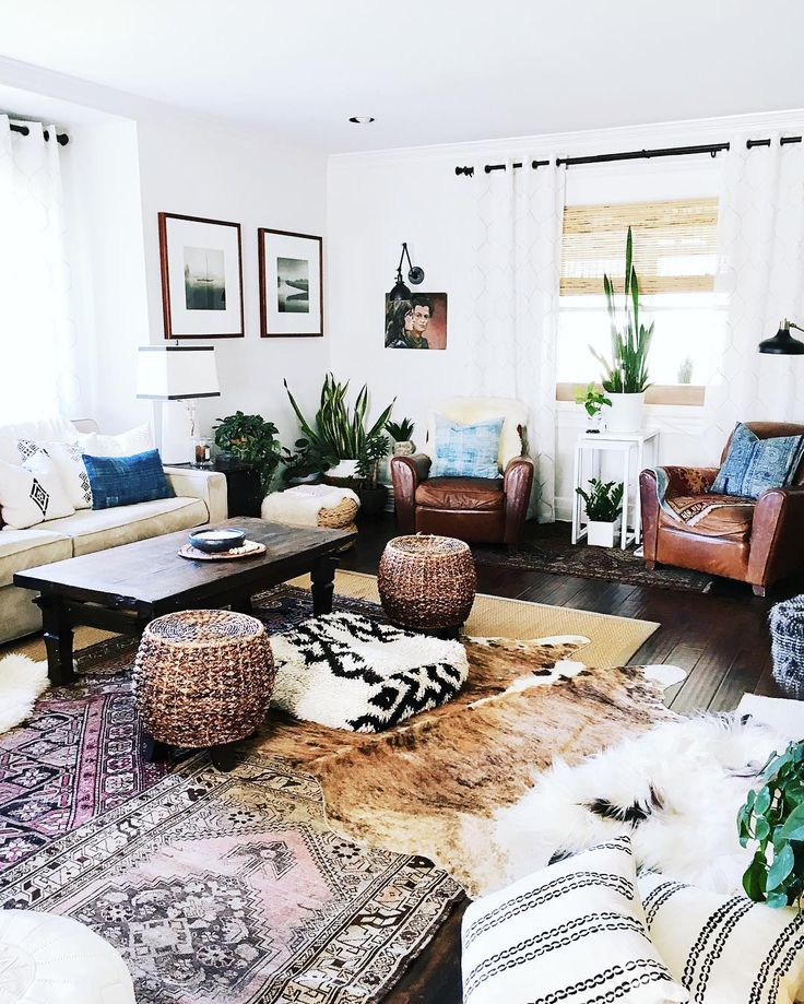 46 best mid century modern meets southwest images on - Boho chic living room decorating ideas ...