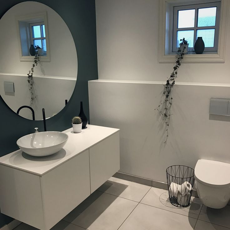 Bathroom modern kvik mano vola matt svart speil bloomingville