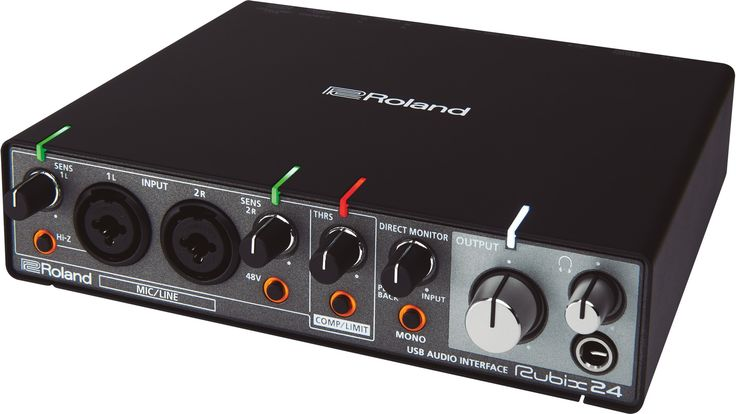 NAMM 2017: Roland Rubix 24 - Audio Interface mit Kompressor - http://www.delamar.de/musik-equipment/roland-rubix-24-38342/?utm_source=Pinterest&utm_medium=post-id%2B38342&utm_campaign=autopost