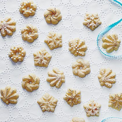 No holiday dessert table is complete without Spritz Cookies. For truly authentic Spritz Cookies, be sure to invest in a cookie press to...