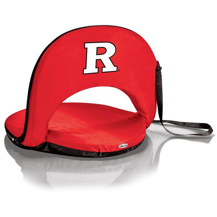 Rutgers Scarlet Knights Oniva Portable Recliner Seat