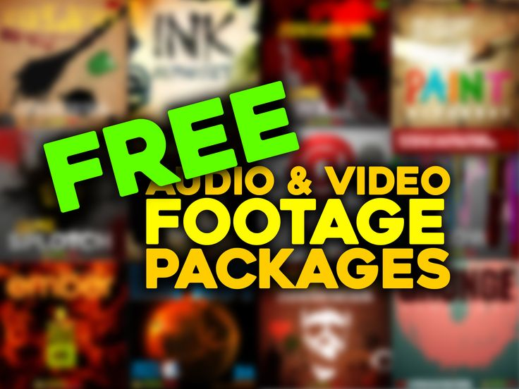 Free audio and video stock footage packages #Videography