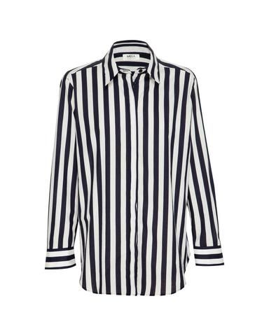 F803 2822 Soft Shirt in Ribbon Stripe
