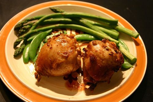 Menu-Apricot Chicken
