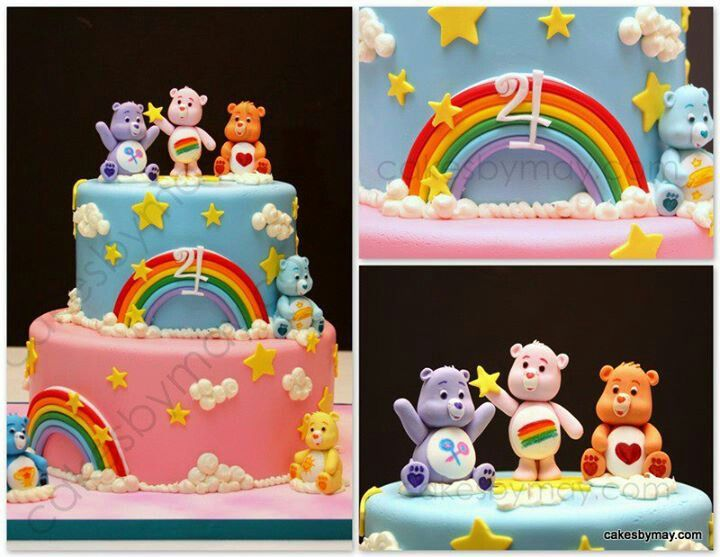 21 Best Care Bears Birthday Cake Images On Pinterest Care Bear