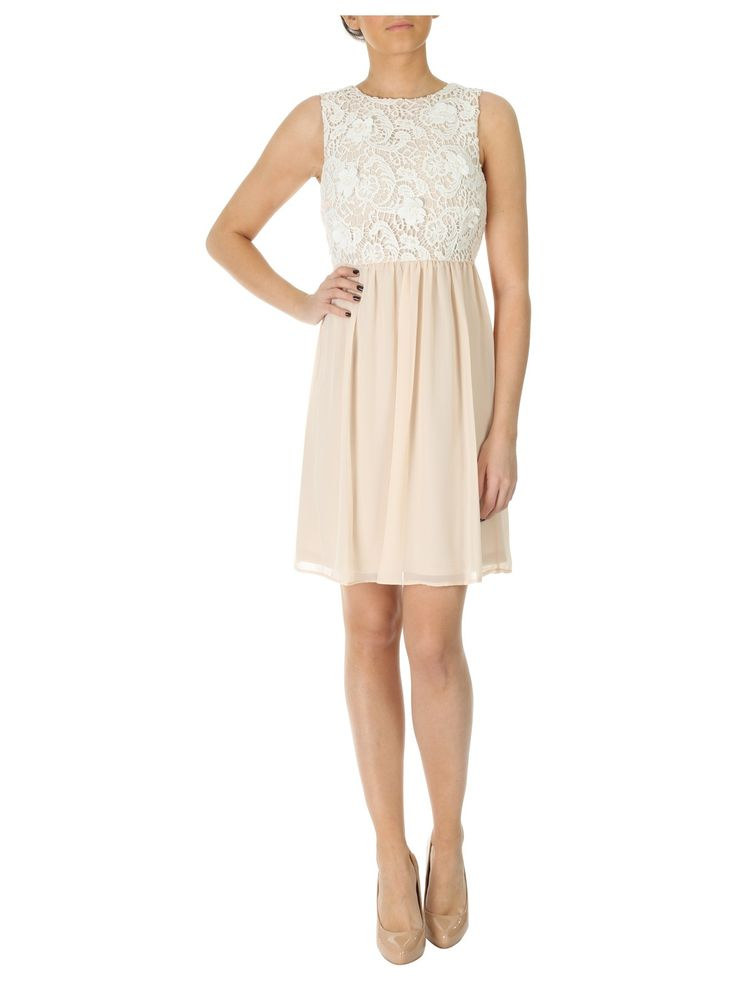 Floral lace and chiffon dress dresses jane norman for Wedding dresses norman ok