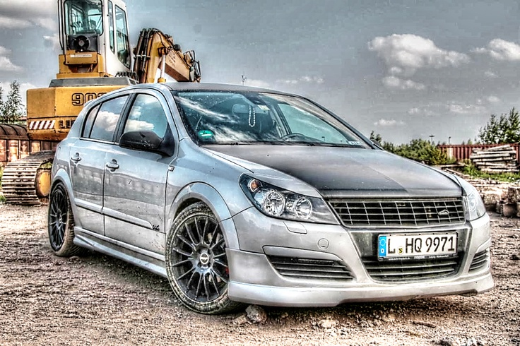 Opel Astra H OPC-Line