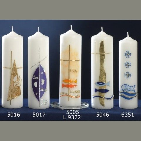 Baptism Candle - Design and Church Candles since 1792