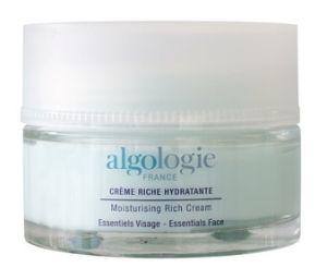Увлажняющий крем-гель с насыщенной текстурой для сухой кожи Moisturising riche cream - Algologie