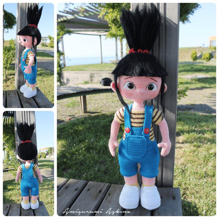 Amigurumi Agnes Doll- Despicable Me