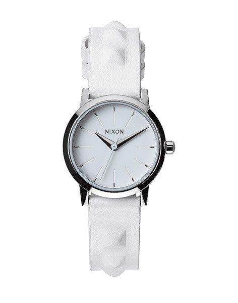 Hodinky Nixon Kenzi Leather all white / studded, 3400 Kč | Slevy hodinek