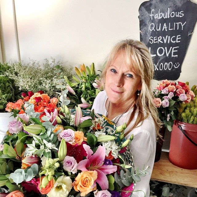 """""""Jose with an enormous bouquet we made today. #fabulousflowers #flowershop #florist #floraldesign #cavendishsquare #cavendish #capetownflorist #love…"""""""