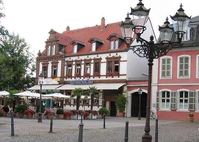 Kaffeehaus in Schwetzingen, Germany